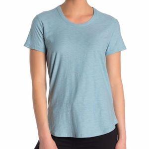 James Perse Blue Crew Neck T-shirt